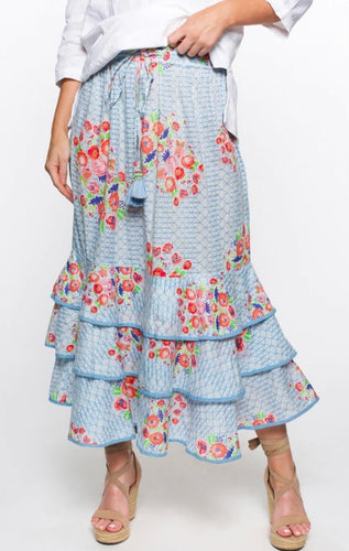 PERLA FRILL SKIRT IN HIGH TEA