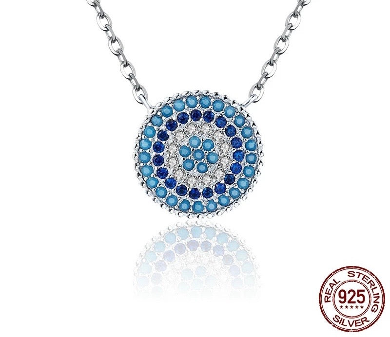 MATI CIRCLE PENDANT NECKLACE