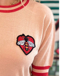 FRANKIE'S BEE  KNIT- 2 colours
