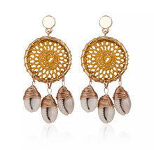 SEA BREEZE DREAM- SHELL EARRINGS - 2 COLOURS