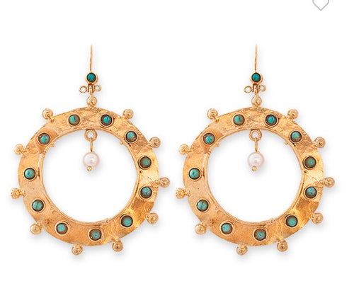 WILLOW EARRINGS- BIANC BOHEME COLLECTION
