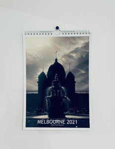 MELBOURNE 2021 STREET PHOTOGRAPHY MINI CALENDAR BY ZINOS