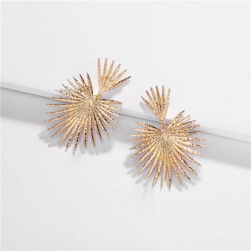 AMORE GOLD DROP EARRINGS
