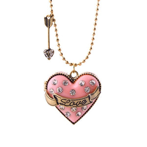 JUST A LITTLE LOVE- LOCKET NECKLACE