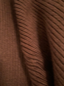 CAFE OLE- COFFEE RIBBED MOHAIR BLEND CARDIGAN
