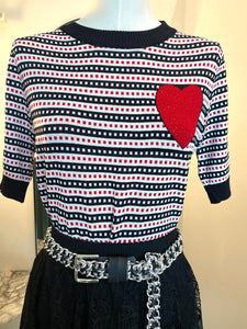 FRANKIE'S SAILOR LOVE KNIT/T