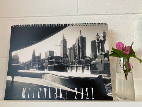MELBOURNE 2021 Street Photography LIMITED EDITION CALENDAR by ZINOS