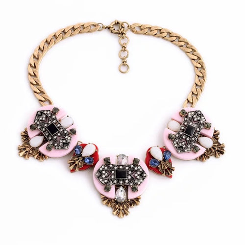 SORYA- PENDANT  CHOKER NECKLACE