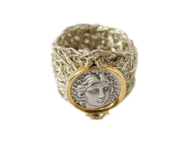 VENUS GOLD/METAL THREAD RING