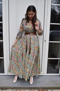 MISS JUNE PARIS- MELBA MAXI DRESS- PINK M-65