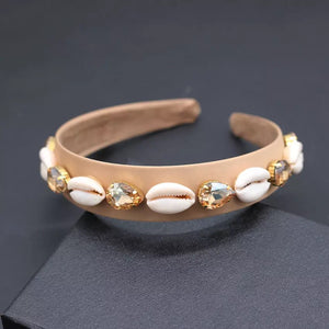 COWRIE PRINCESS HEADBANDS- 2 COLOURS