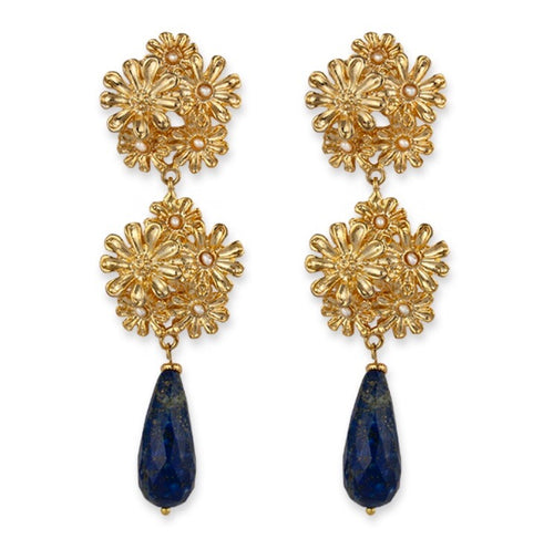 ELEANOR- BIANC DROP EARRINGS