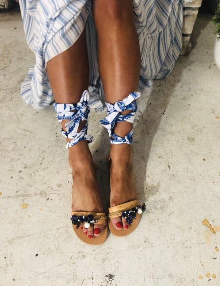 AMMOS-STEFANIA- 2 WAY MEDITERRANEAN SANDALS