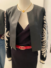 CONSTANCE CROP LEATHER JACKET-4 colours