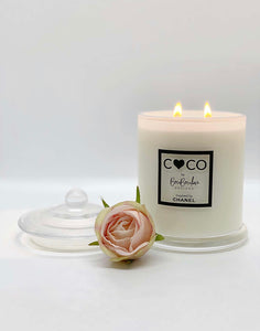 DESIGNER COCO BY CHANEL INSPIRED SOY CANDLE- BY BOUBOULINA DESIGNS