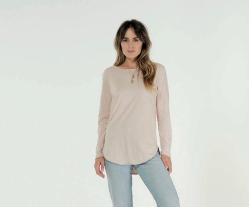CLE ORGANICS- LAYLA LONG SLEEVE TOP- 7 colours