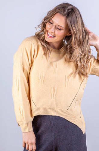 JJ SISTER LAYLA YELLOW KNIT