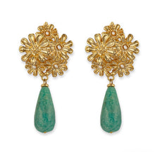 CATHERINE DROP EARRINGS- BIANC LUXE BOHEME