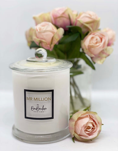 DESIGNER MR MILLION SCENTED CANDLE- BY BOUBOULINA DESIGNS