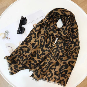 LEOPARD- TRADITIONAL BROWN TASSELS