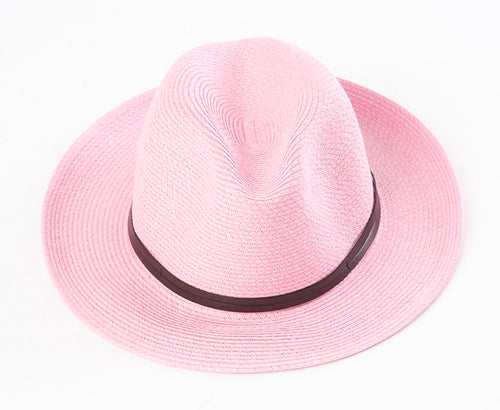 BORSALINO-FRAISE STRAWBERRY PAPER HAT