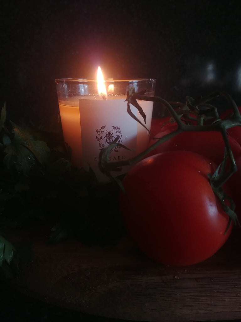 Vine Tomato Garden Floor Collection Candle