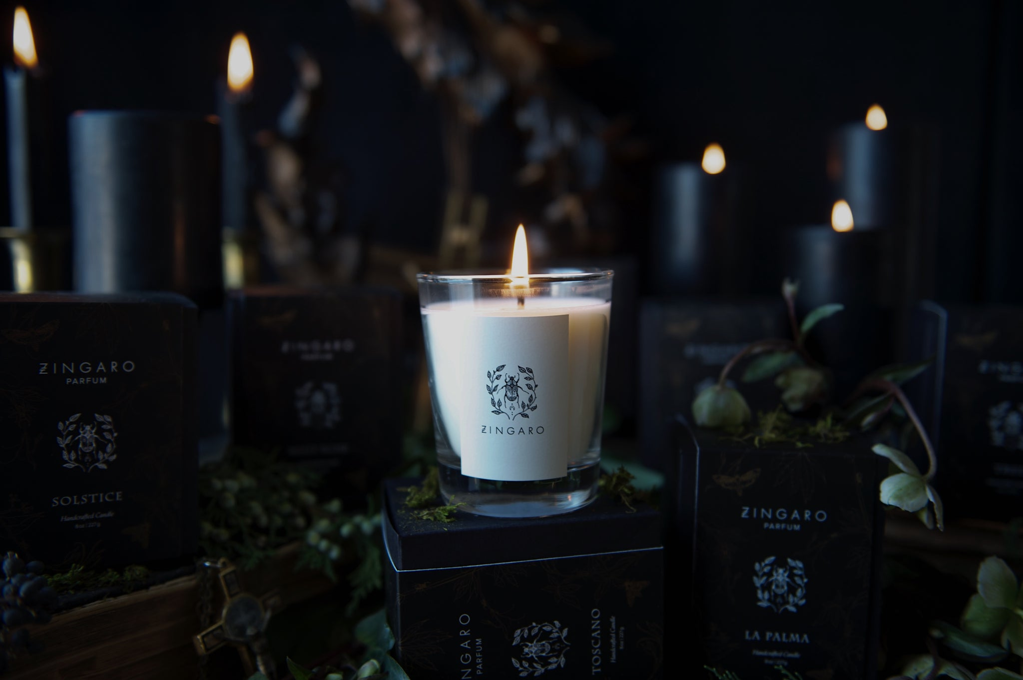 Oud Dark Collection Candle