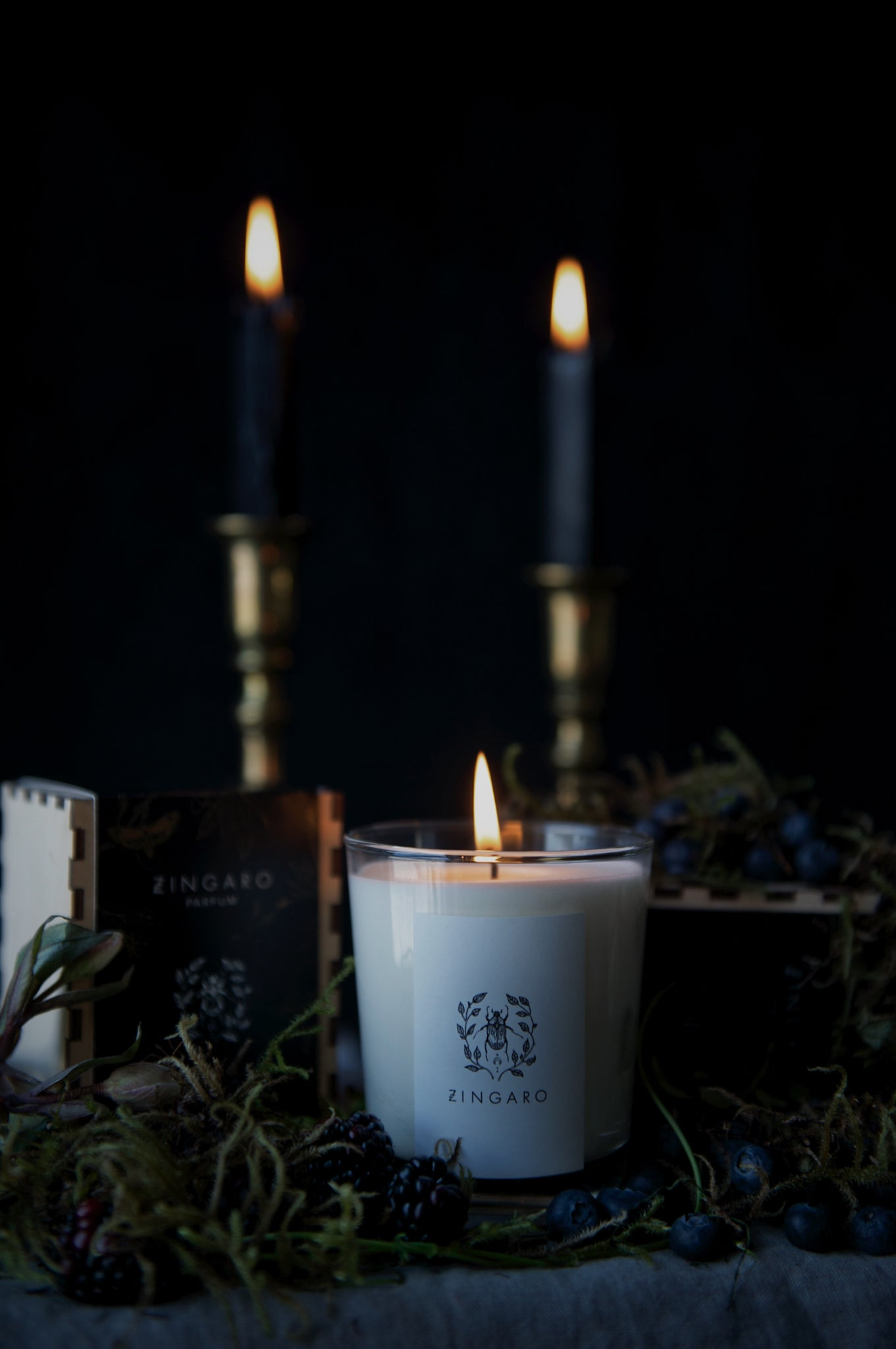 Blackcurrant Vine Candle Garden Floor Collection