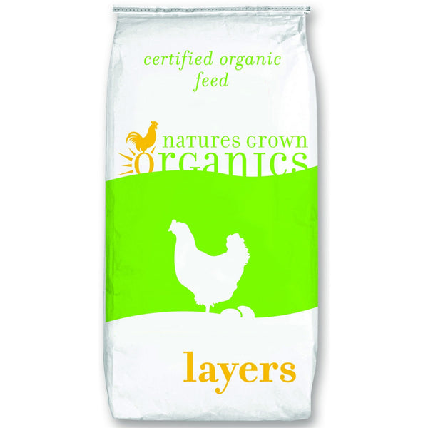 50# Organic 16% Poultry Layer