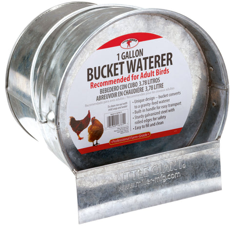 Bucket Poultry Waterer