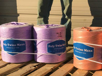 Baling Twine (Poly Twine Max) 5300' 450 knot large square