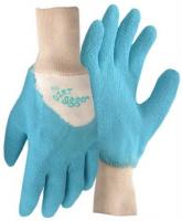 Garden Gloves-Aqua Small