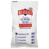 REDMOND REAL SALT BULK 25 lb bag