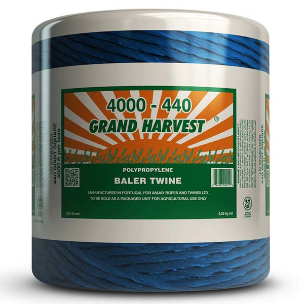 Baler Twine – Grand Harvest Heavy 4,000/500