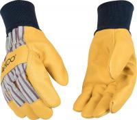 Grain Pigskin Palm Gloves - Leather