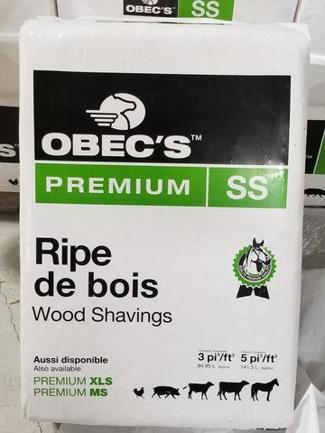 Rip O Bec Premium Bagged Wood Shavings 35 Lbs per bag