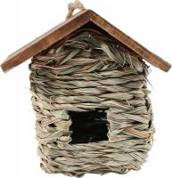 Hanging Grass Roosting Pocket w/ Roof
