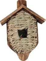 Post Mounted Grass Roosting Pocket w/ Roof