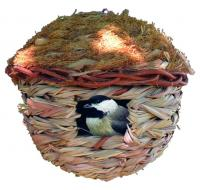 Round Hanging Grass Roosting Pocket