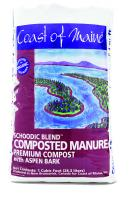 Coast Of Maine Composted Manure Schoodic 1 Cu/ft