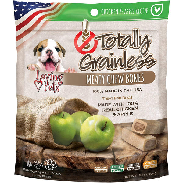 6 oz Grainless Meaty Chew Bones-Made with Real Chicken & Apple