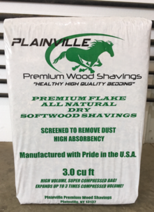 Bagged Shavings Softwood 3 Cubic Foot