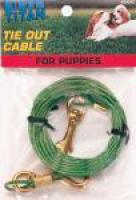 "Tie Out Cable 12"" Puppy"