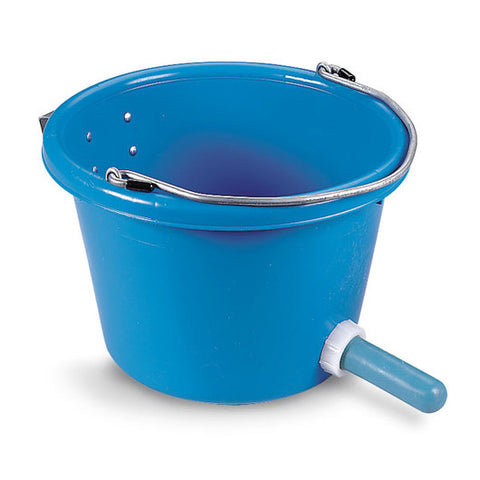 Calf-Mate 8 QT Poly Calf Feeder Bucket
