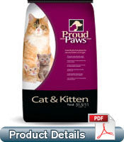 PAWS CAT & KITTEN - CAT FOOD
