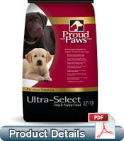 ULTRA SELECT 27/15 DOG & PUPPY 40 LB BAG