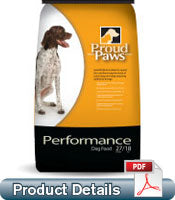 PROUD PAWS PERFORMANCE 26-11 - DOG FOOD