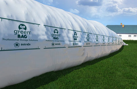 Green Bag Silage Bags 8 Feet by 100 Feet Long 8.5 Mil (More Sizes Available)