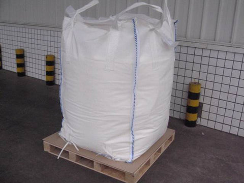 Salt Plain White 2000 Lb Tote Bag
