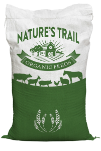 Goat Lactation Feed 18% (Nature's Trail brand) 50 Lb Bags (Pellet) Organic